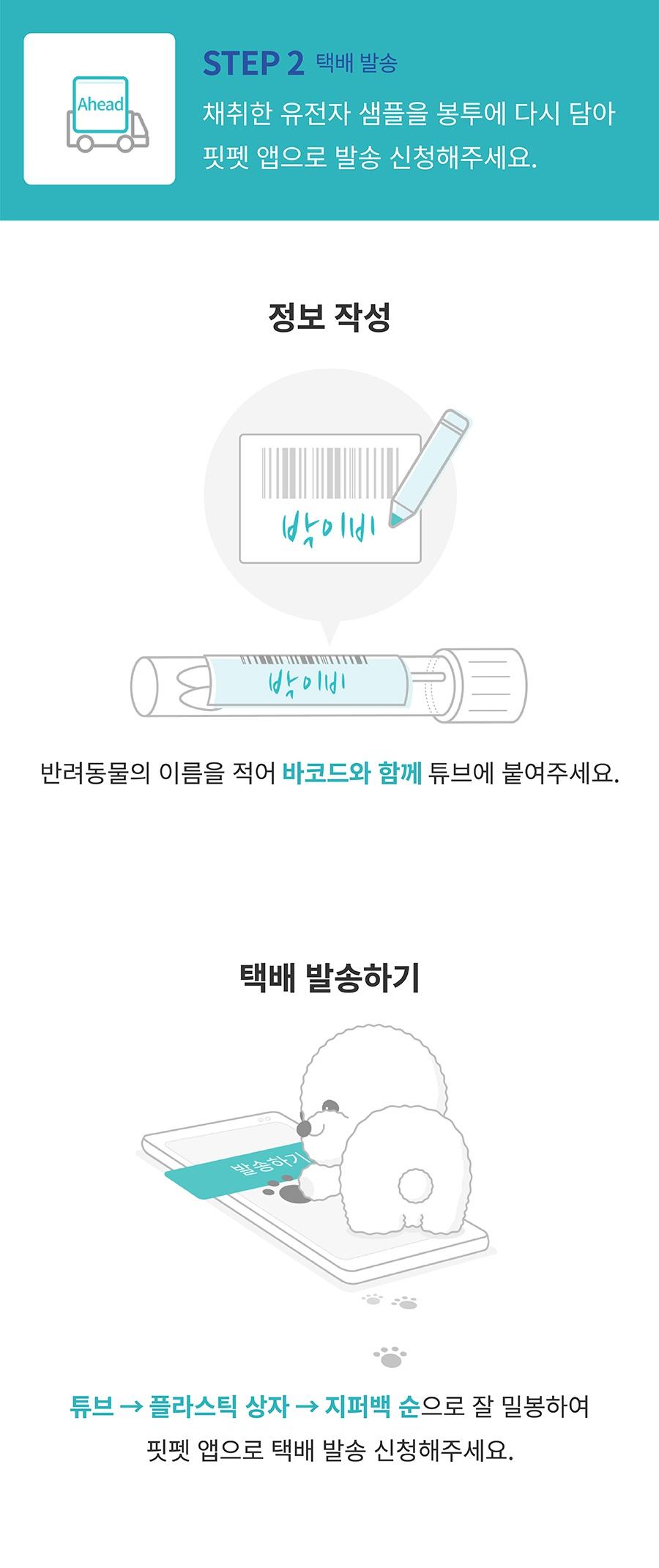 핏펫 어헤드 진 유전병 검사 키트-상품이미지-7